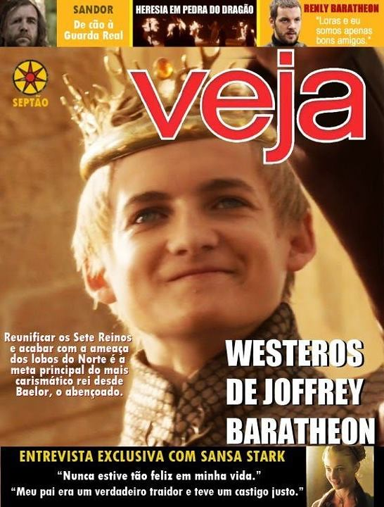 Veja - Game of Thrones