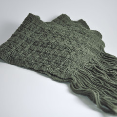 Box Huck Scarf by Project Pictures