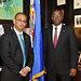 Assistant Secretary General meets with Minister of Trade and Industry of Haiti