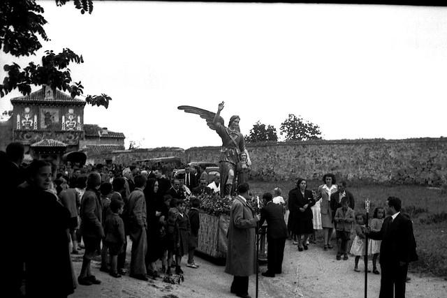 Romería del Cigarral del Santo Ángel Custodio a mediados del siglo XX. Fotógrafo anónimo. Imágenes recuperadas, digitalizadas y cedidas por David Utrilla