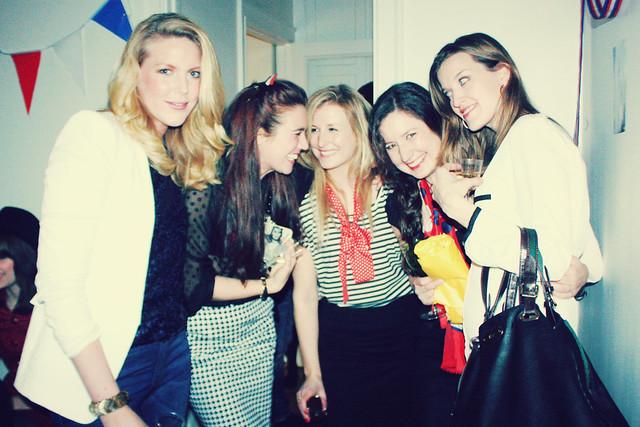 little paris housewarming party.