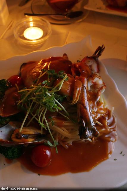 ECF Cafe - Mixed Seafood Pasta