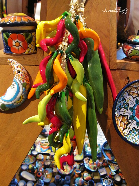 Hot Talavera peppers