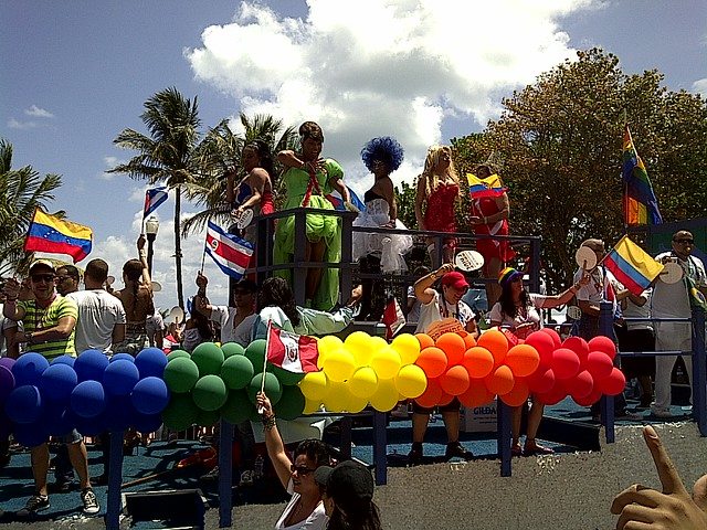 South Beach Gay Pride parade