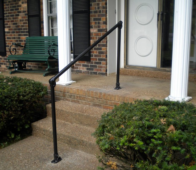 Easy to Install Outdoor Stair Railing | Simplified Building