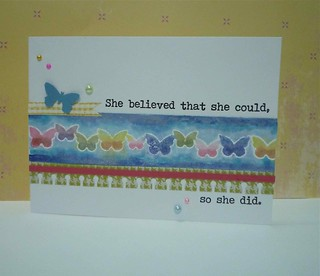 She believed . . .