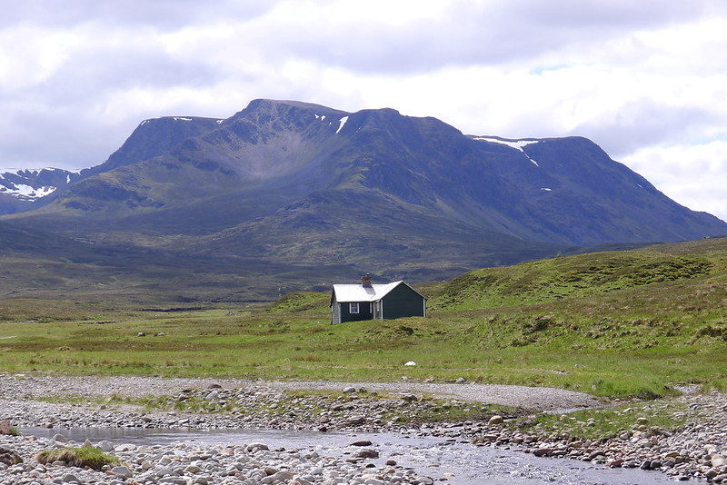 Culra Bothy and Ben Alder