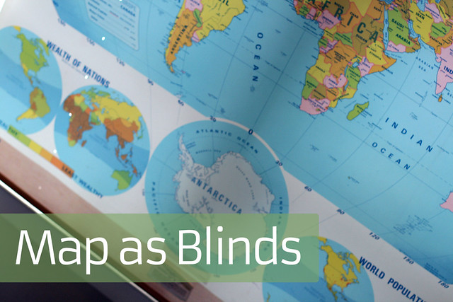 Map as Blinds