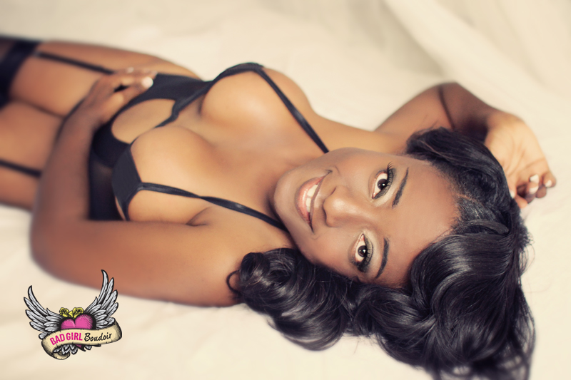 Black Women Boudoir Photography // Sexy Photos for Women of Color