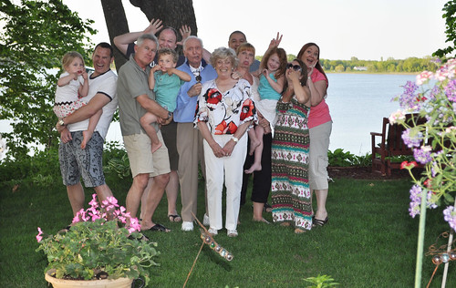 Silly Family Photo 2012