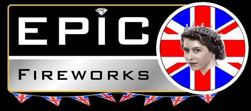 Epic Fireworks Diamond Jubilee Logo