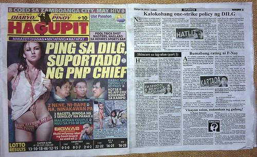 Hagupit, Monday, June 18, 2012 issue