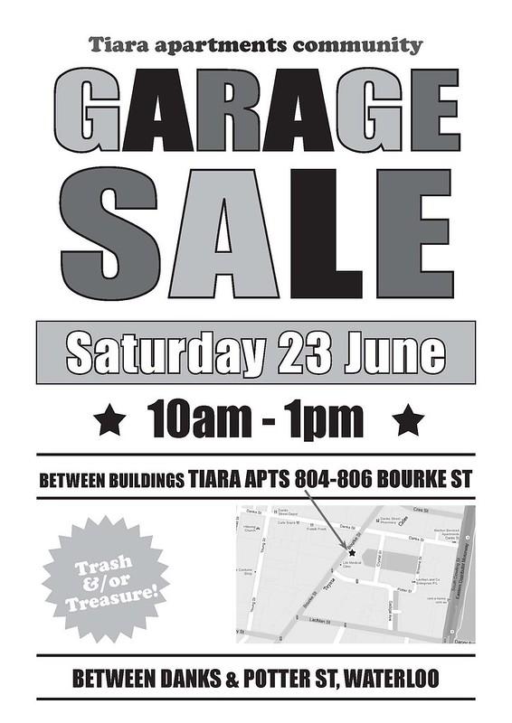 garage sale tiara waterloo_black