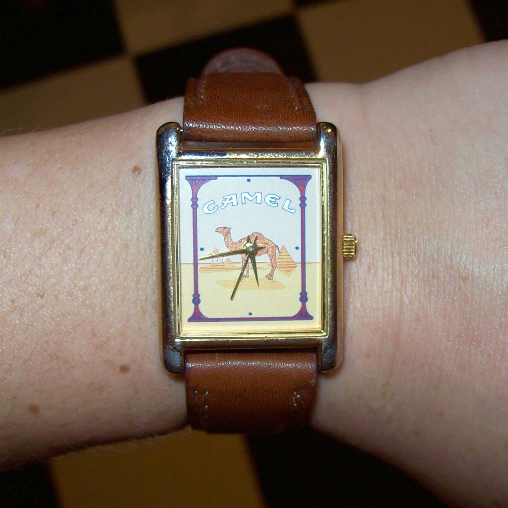 vintage Camel watch