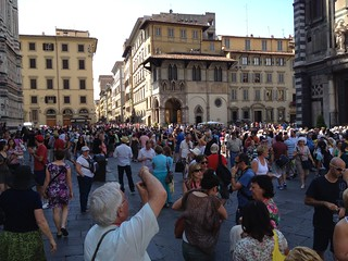 It is John the Baptist day in Florence. This is a big deal.