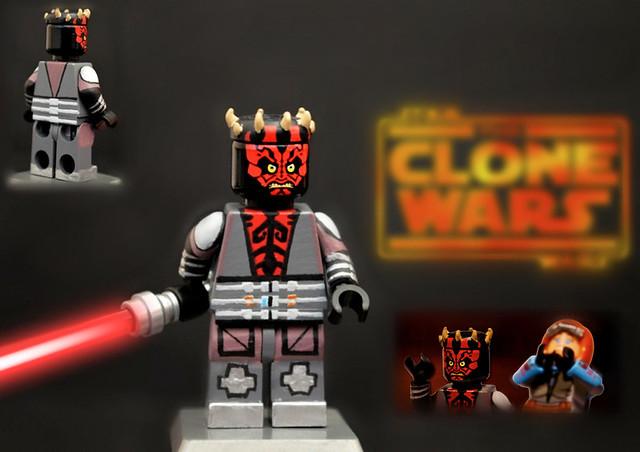 Lego star wars the clone wars darth maul season 5 outfit
