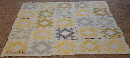 Nicole's Wedding Quilt Blocks are done!