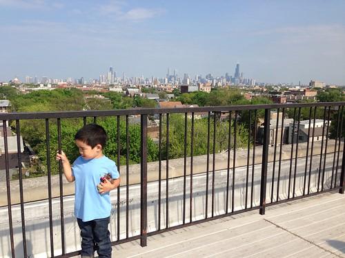 rooftop apt view