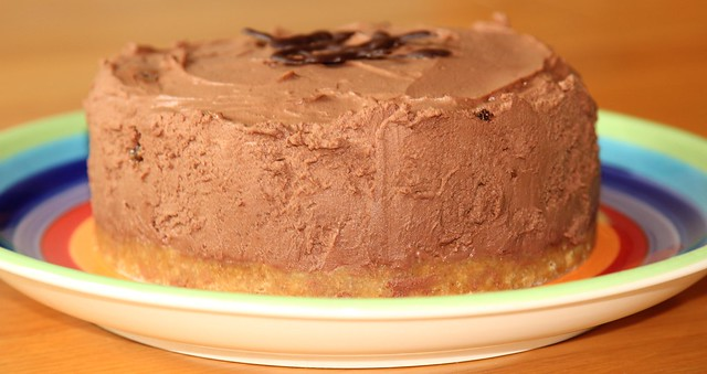 Chocolate Marmalade Cheesecake
