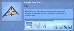 Simple Roof End