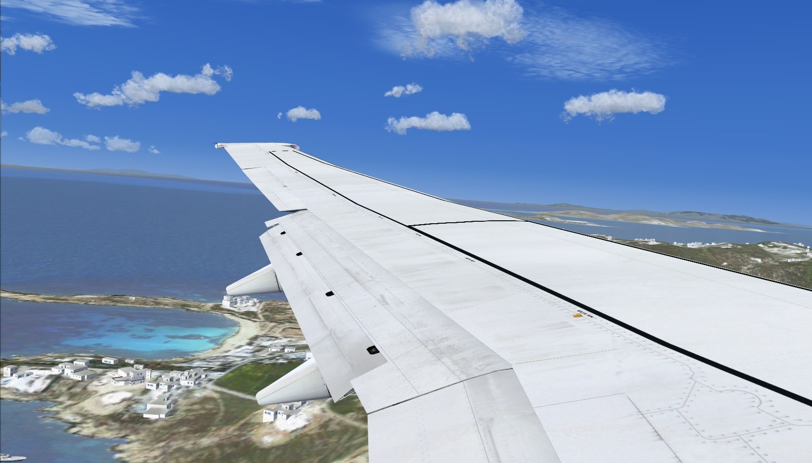 First landing Mykonos 8841249831_6f22105c22_o