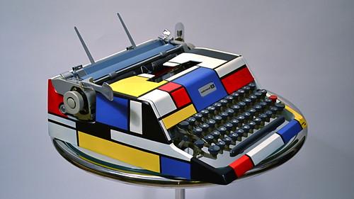 La Vie Claire Team Issue Typewriter?