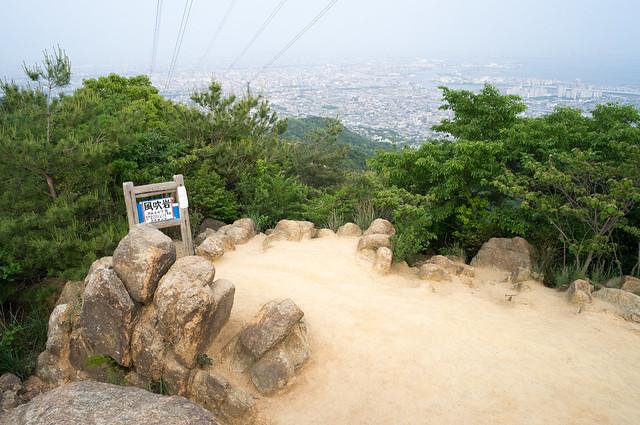 六甲山系登山