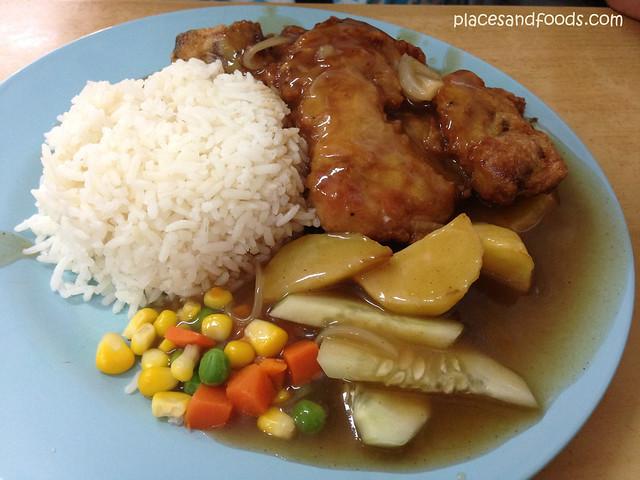 kuen cafe chicken chop