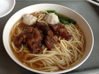 Pork and meatball noodles at Food Republic, Citygate Outlet Mall, Tung Chung