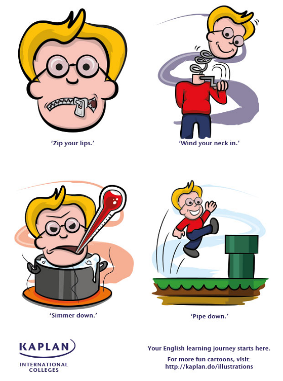 English Idioms: Shhh!