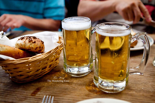 Beers and bread