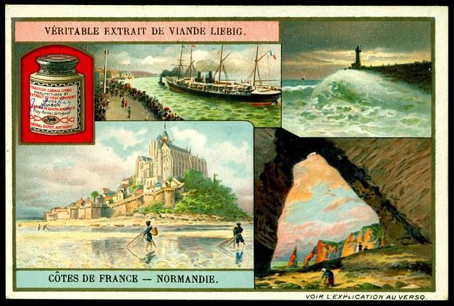 Liebig S953 The French Coastline ~ Normandy
