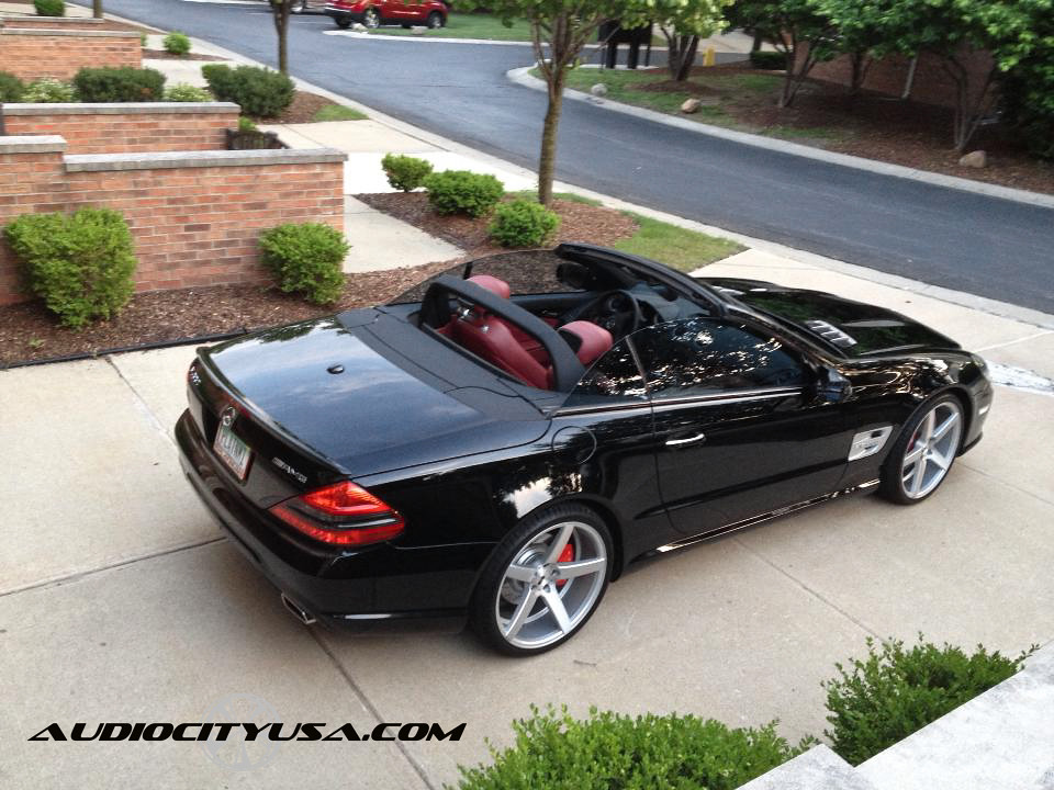 20 Quot Xo Miami Wheels 2009 Mercedes Benz Sl 550 Amg Hankook Ventus V 12