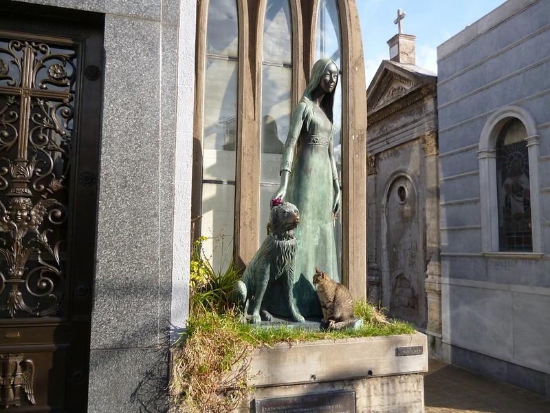 In Recoleta Cemetery