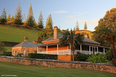 No.10 Quality Row, Foreman of Works Quarters , Built 1844, Kingston, Norfolk Island