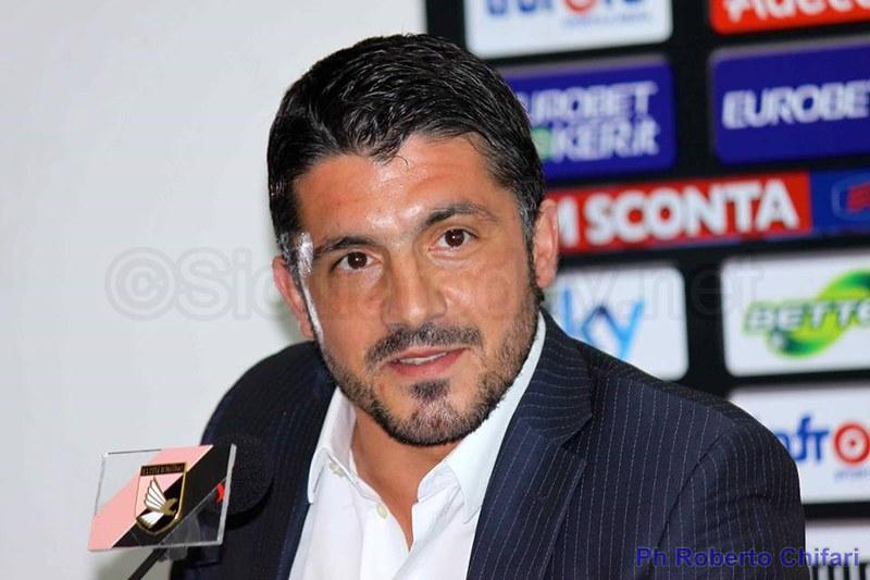 "Palermo, Gattuso: ""Dobbiamo massacrare gli avversari""$"
