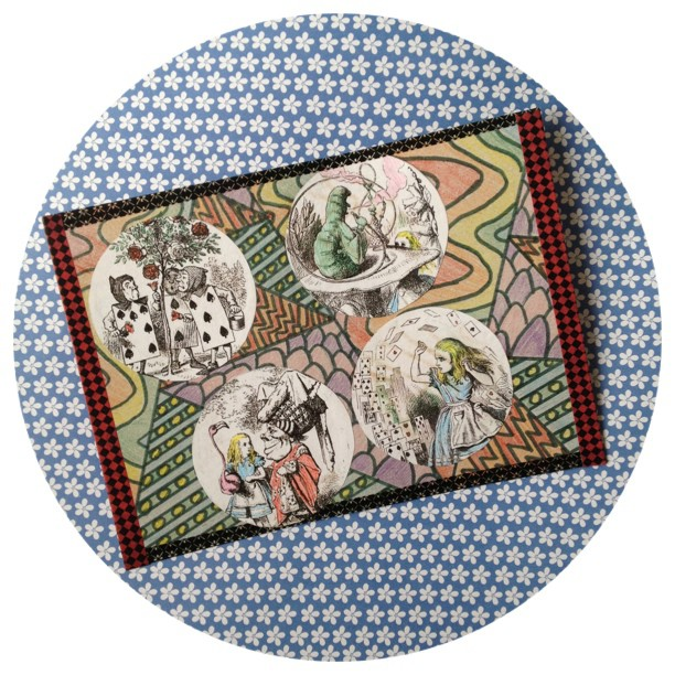 For me #Miniletter #postcard #swap #book #aliceinwonderland #snailmail #handmade