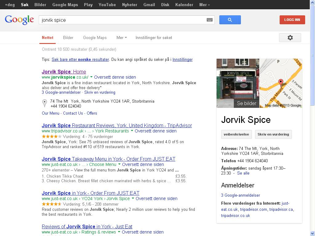 jorvik spice