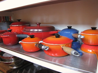 My Le Creuset collection