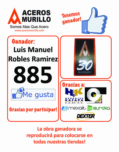 ¡Ya tenemos a nuestro Ganador! by Aceros Murillo