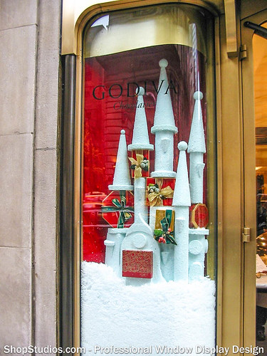 Holiday Window Display NYC