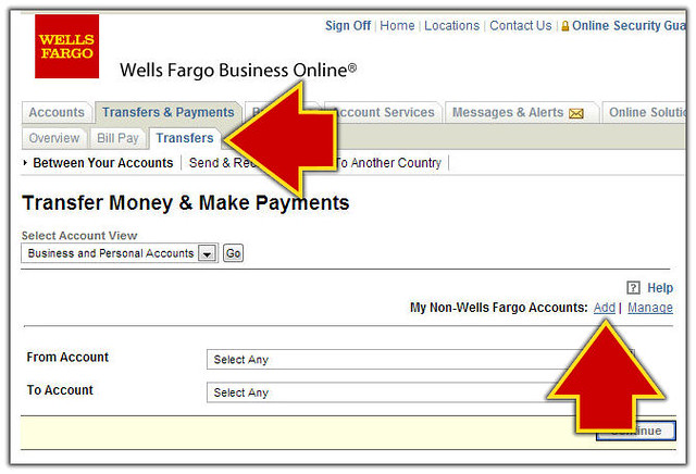 how to check my account number wells fargo online