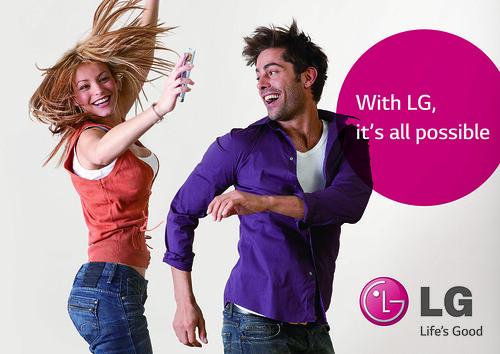 LG 글로벌 지면 광고