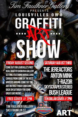 Louisville's Graffiti Art Show