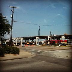 #construction #183 #dirt #concrete #hurst #texas  Will they ever finish?