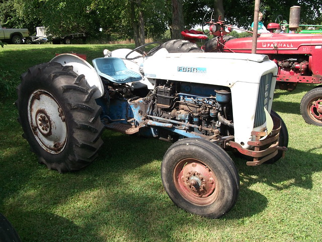 1963 Ford 2000 Tractor : Ford tractor manual