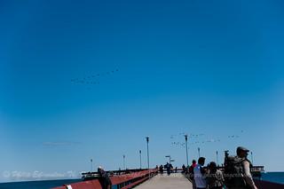 Onto the Pier