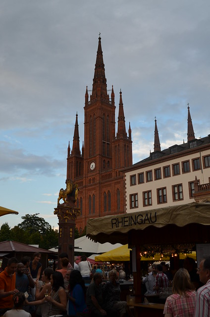 Wiesbaden Wine Fest 2013 Marktkirche Rheingau