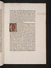 Illuminated initial in Aristoteles: Ethica ad Nicomachum