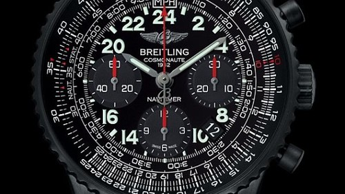 LIMITED EDITION BREITLING NAVITIMER COSMONAUTE BLACKSTEEL